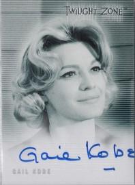 Twilight Zone: Gail Kobe [Autograph]
