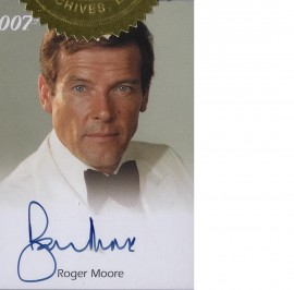 James Bond: Roger Moore [Autograph]