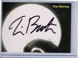 Nightmare Before Christmas: Tim Burton [Autograph]