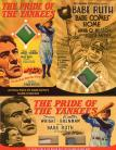 Movie Posters: Babe Ruth's Bat & Yankee Stadium Brick [PROP SET]